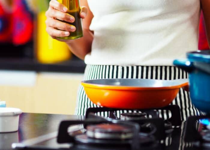 Kruiden olie maken voor het koken
