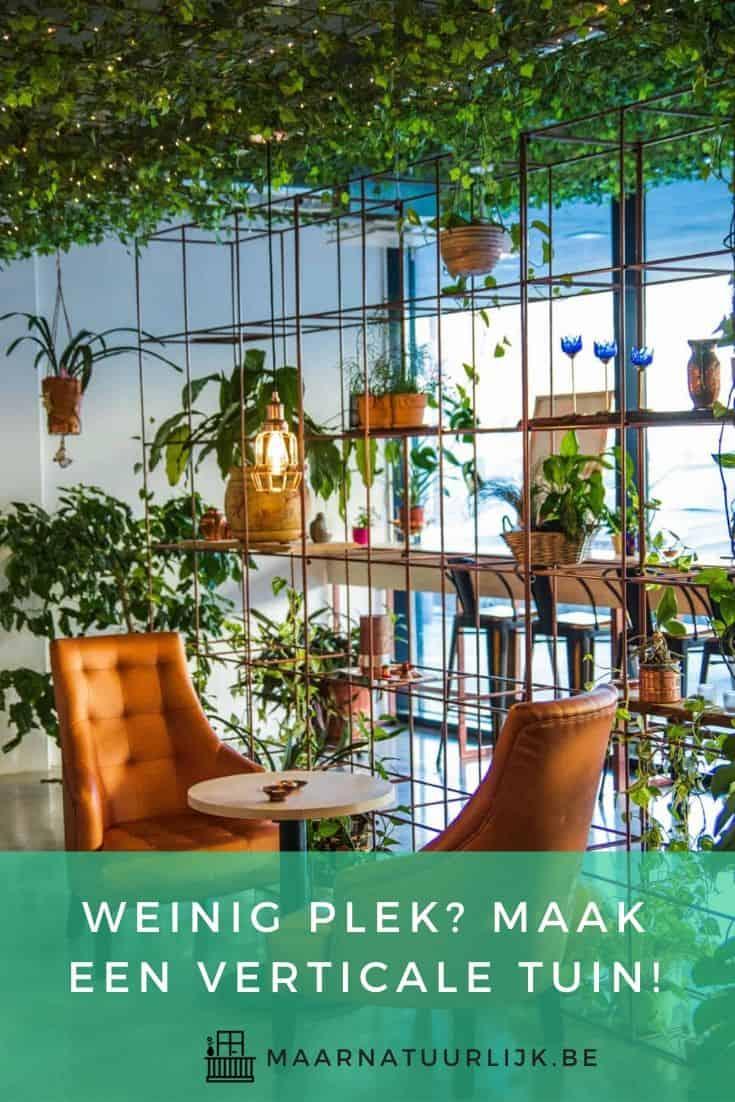 Maak een verticale tuin voor binnen