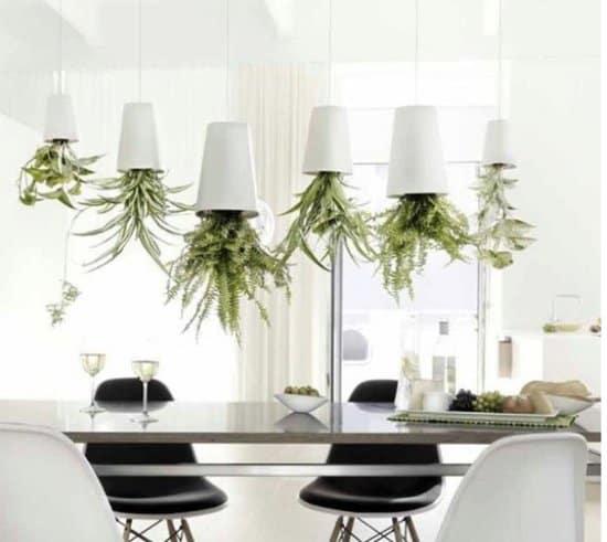 Ondersteboven potten voor je kruiden binnen