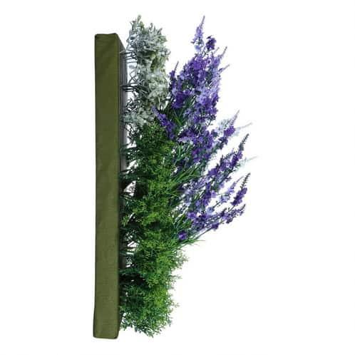 verticale lavendel muurhanger