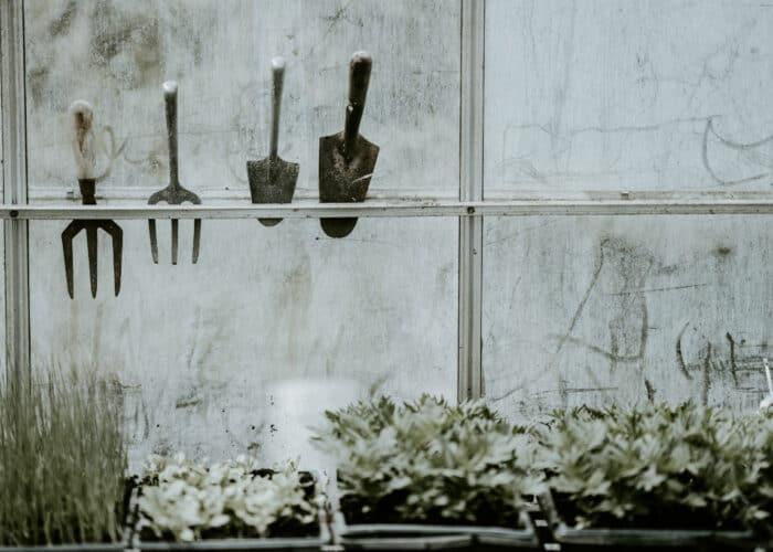 urban garden tuinier gereedschap