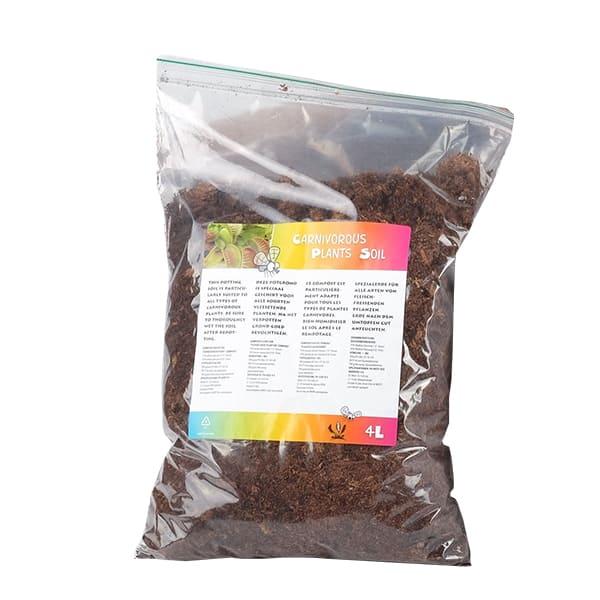 Potgrond-voor-verzorging-vleesetende-planten