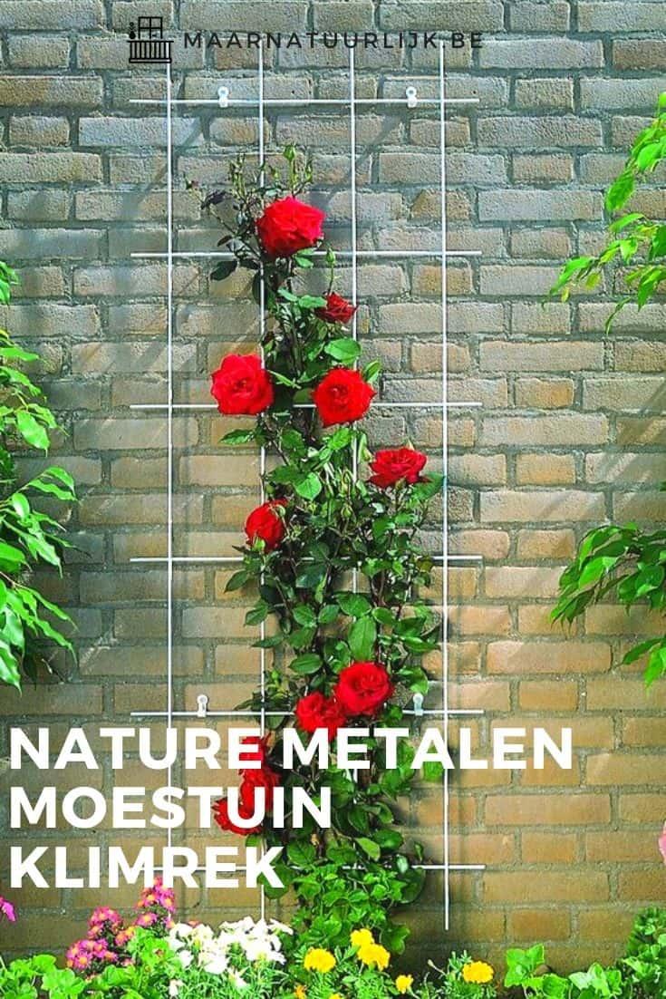 Nature metalen moestuin klimrek