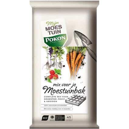 Pokon moestuinbakken mix 45l mix voor beste moestuinbak