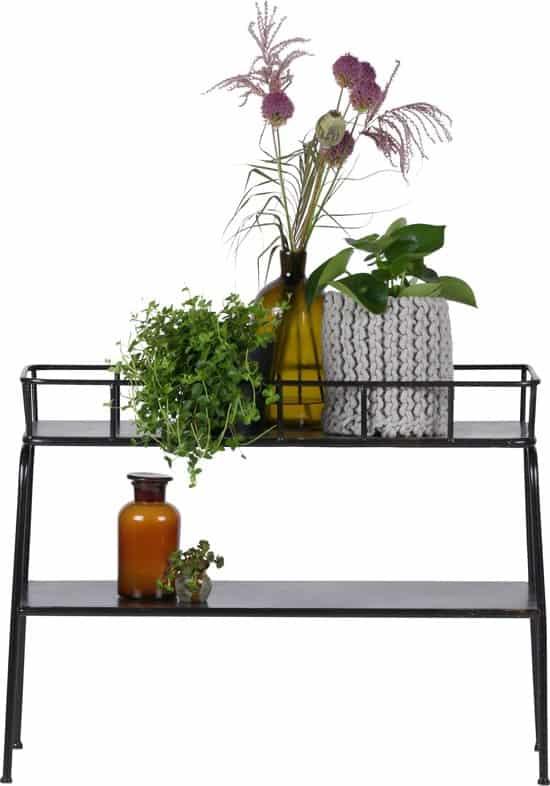 BePureHome - Plantentafel Greenery Zwart