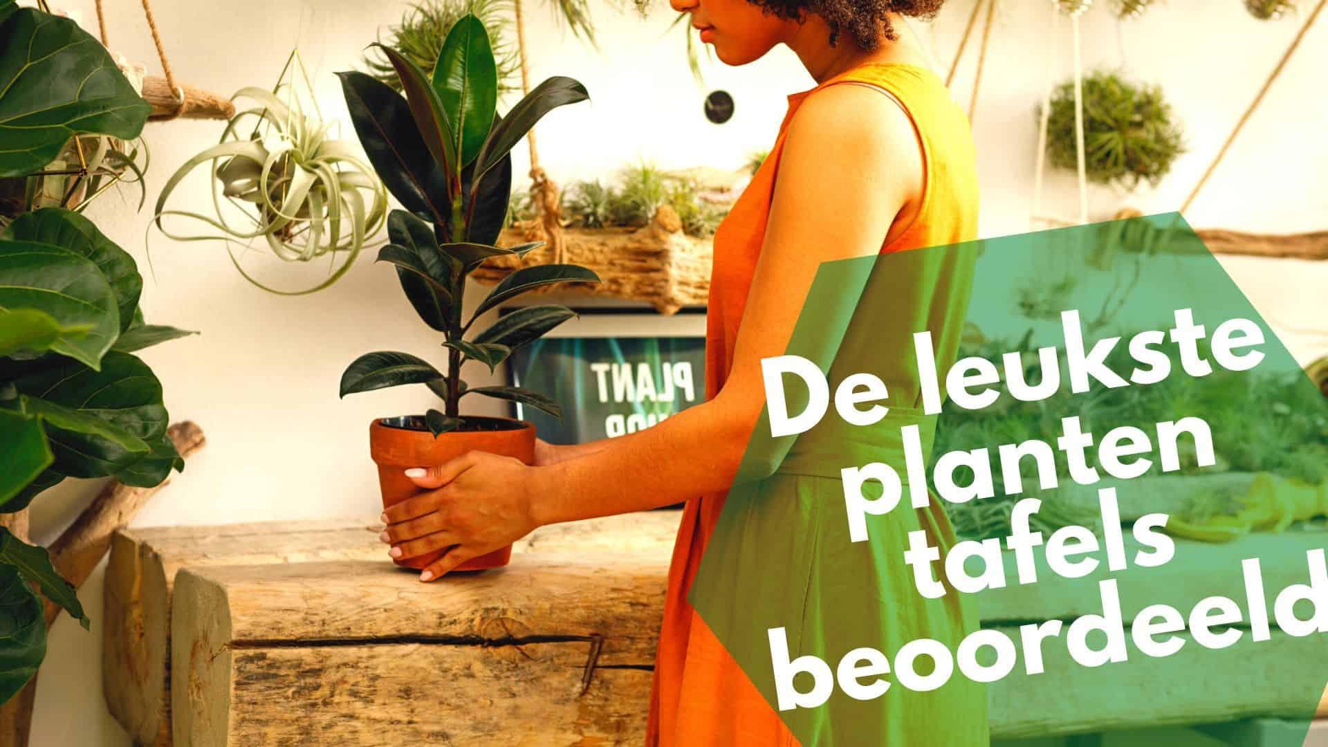 Leukste plantentafel | 22 ideetjes van bamboe tot metaal en meer