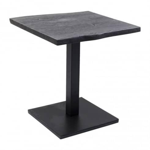 Kare Design Pure Nature Tafel Zwart acacia hout en staal