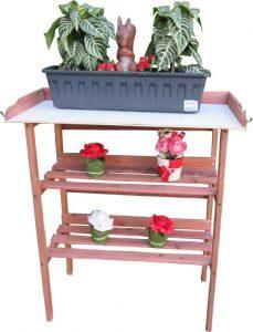 Maxx Oppottafel - plantentafel - tuinwerktafel 80x40x86cm + toebehorenset
