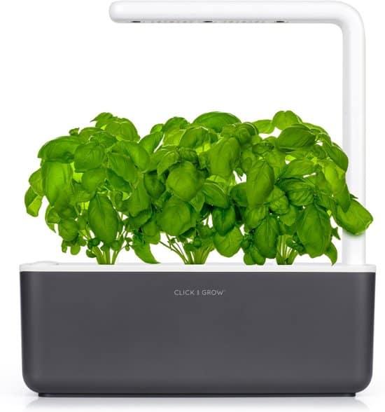 Beste kweekkas met lamp Binnentuin met LED-verlichting Click & Grow Smart Garden