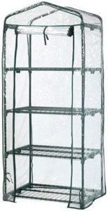 Beste kweekkas op poten Kweekkas:broeikas met hoes 160 cm