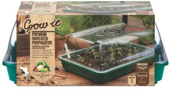 Beste plastic kweekkas Grow-it Premium onverwarmde kweekkas