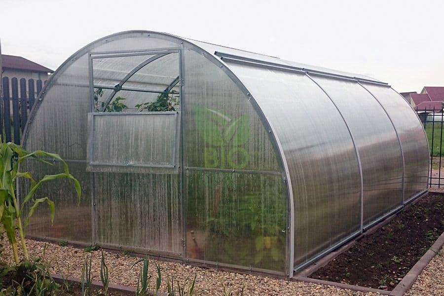 Beste moestuin bescherming voor de vorst:Tuinkas Bio-Logic Comfort Plus