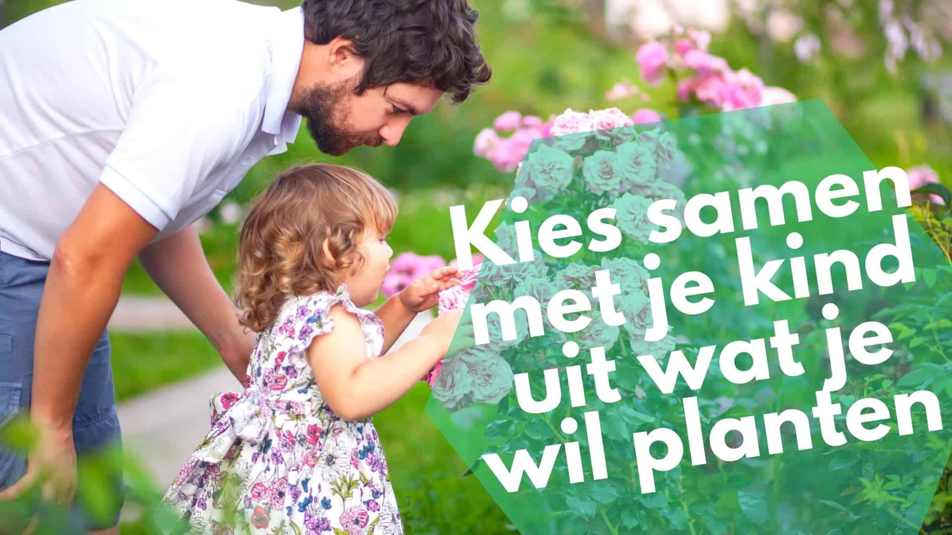 Kies samen met je kind uit wat je wil planten