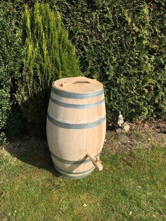 Leukste regenton wijnvat:Meuwissen Agro Kastanjehout