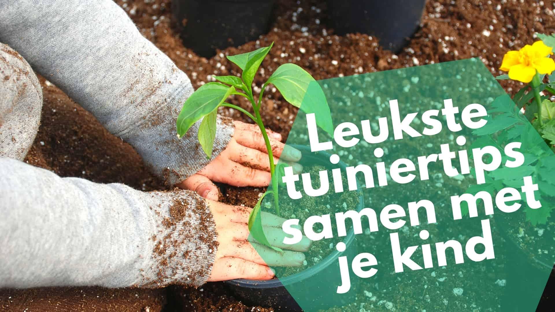 Leukste tuiniertips samen met je kind