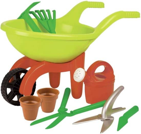 Tuinierset voor kinderen van 2 tot 4 jaar