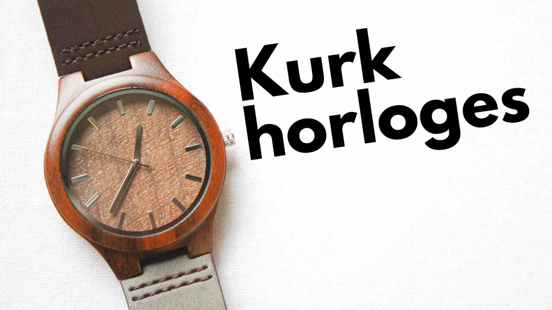 7 leukste kurk horloges beoordeeld: vegan & milieu-vriendelijk