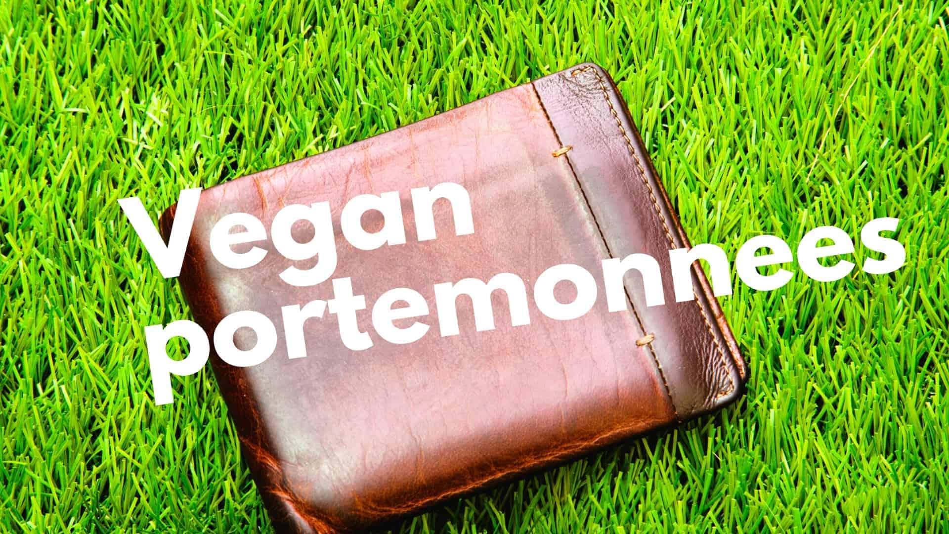 9 leuke vegan portemonnees: prachtig pu leer, suede & kurk