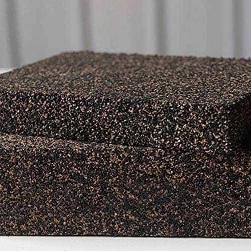 Best kurk geluidsisolatie: Adanse antivibratie isolatiepads