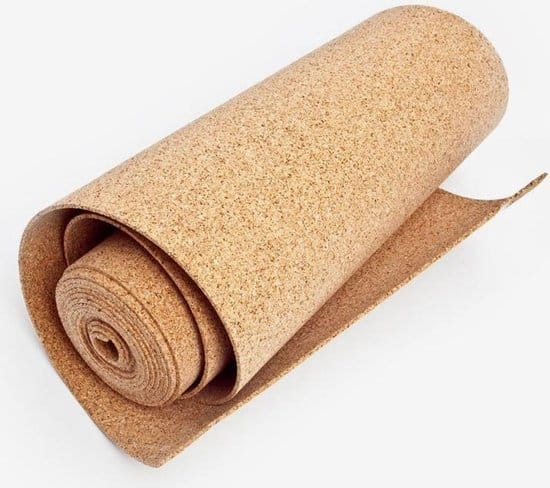 Beste dikke kurk vloer op rol: Kurk24 4mm ondervloer