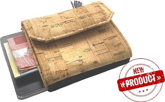 Beste kleine kurk portemonnee: Space Products Eco mini pasjeshouder
