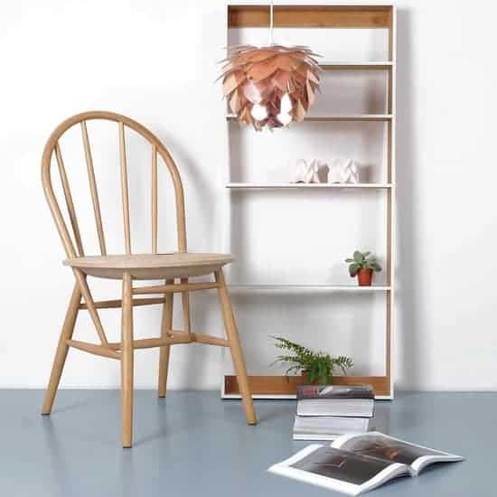 Beste kurk eetkamer stoel: EMH Design Drifted Chair Light Cork