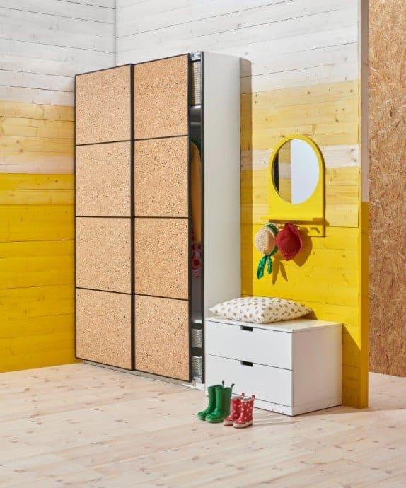 Beste kurk kast: IKEA Kirkenes kastdeur
