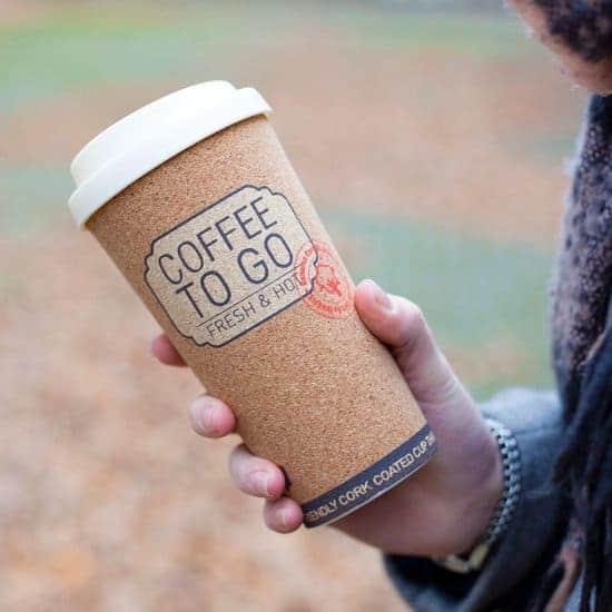 Beste kurk koffiebeker: Invotis