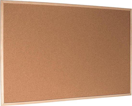 Beste kurk prikbord: Esselte met houten omlijsting