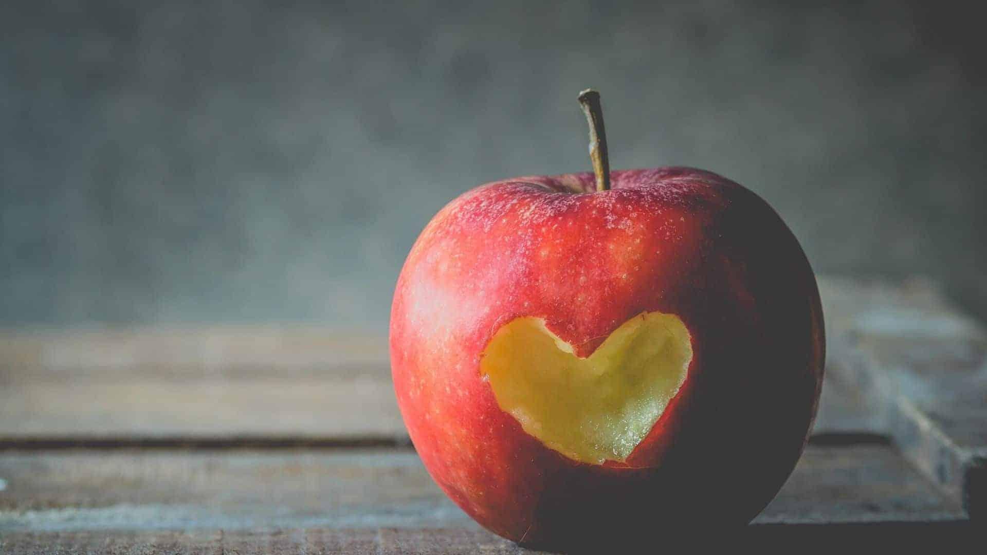 Hoeveel calorieën zitten er in een appel?
