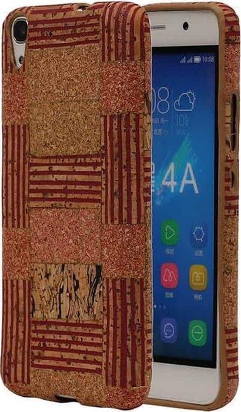 Leukste kurk hoesje voor Huawei Honor Y6: BestCases Model D