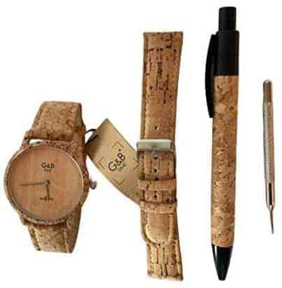 Leukste kurk horloge vrouw: G&B Time Analoge polshorloge