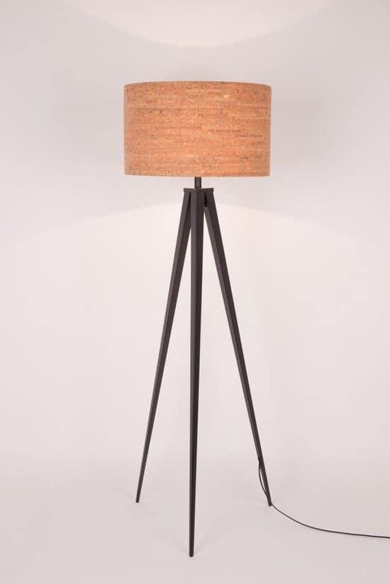 Leukste kurk lamp: Zuiver Tripod Leeslamp