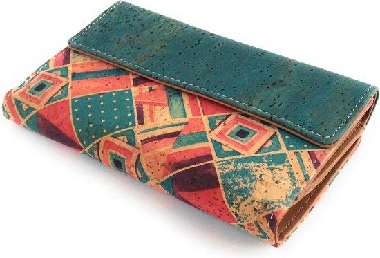 Leukste kurk portemonnee voor vrouwen: Horse Dames Portemonnee van Portugese ecologische kurk