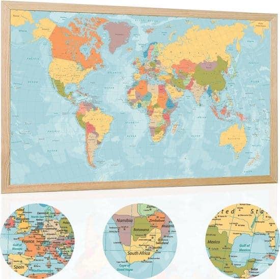 Leukste kurk wereldkaart:Your Adventure Map