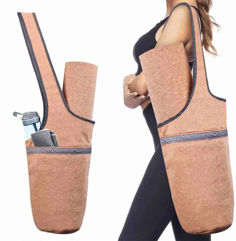 Leukste kurk yogatas: AGQZ Cork Yoga Mat Bag