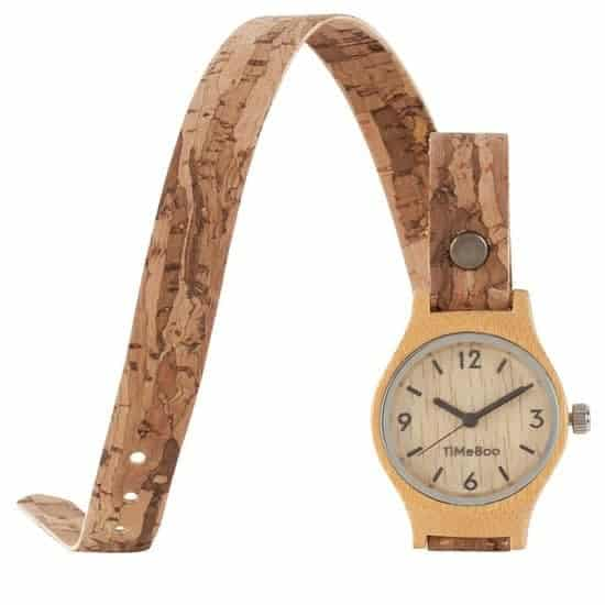 Leukste vegan bamboe dames horloge: Timeboo