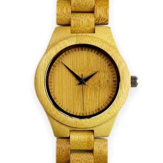 Leukste vegan bamboe heren horloge: Himalaya