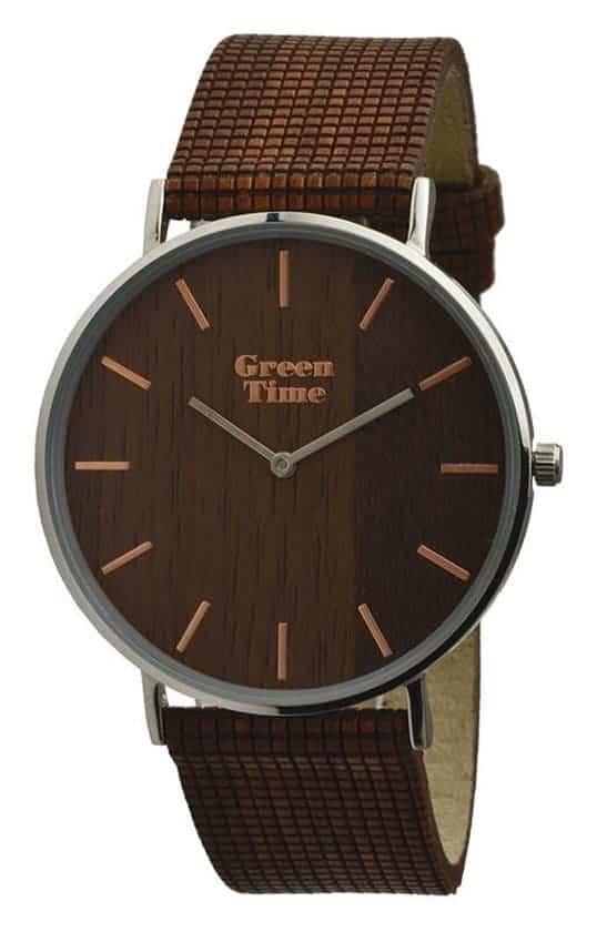 Leukste vegan horloge voor heren: GreenTime