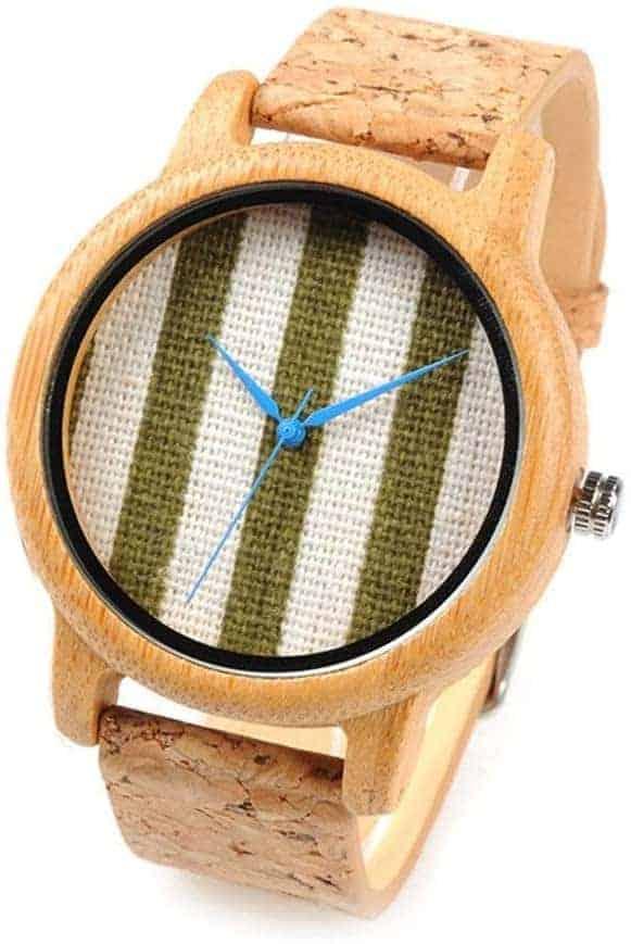 Leukste vegan houten dames horloge: HWCOO Wood Watch