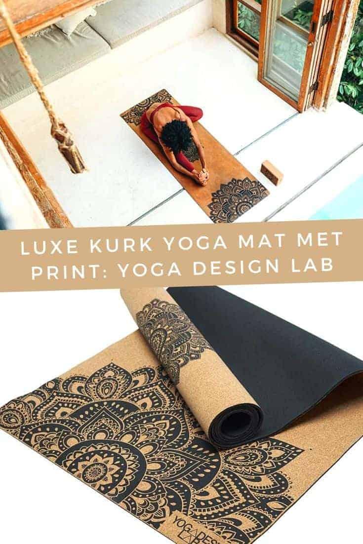 Luxe-kurk-yoga-mat-met-print-Yoga-Design-Lab