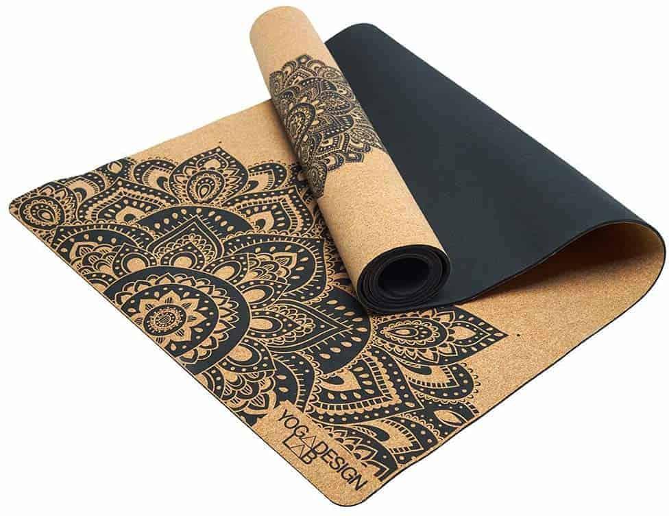Meest luxe kurken yogamat: Yoga Design Lab