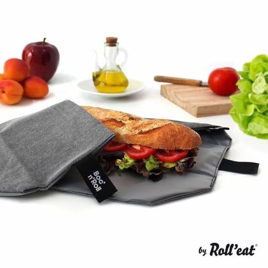 Beste uitvouwbare herbruikbaar boterhamzakje: Roll'Eat Boc'n'Roll Foodwrap