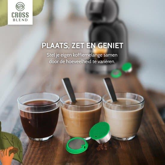 Beste herbruikbare koffie cups Dolce Gusto: Crossblend