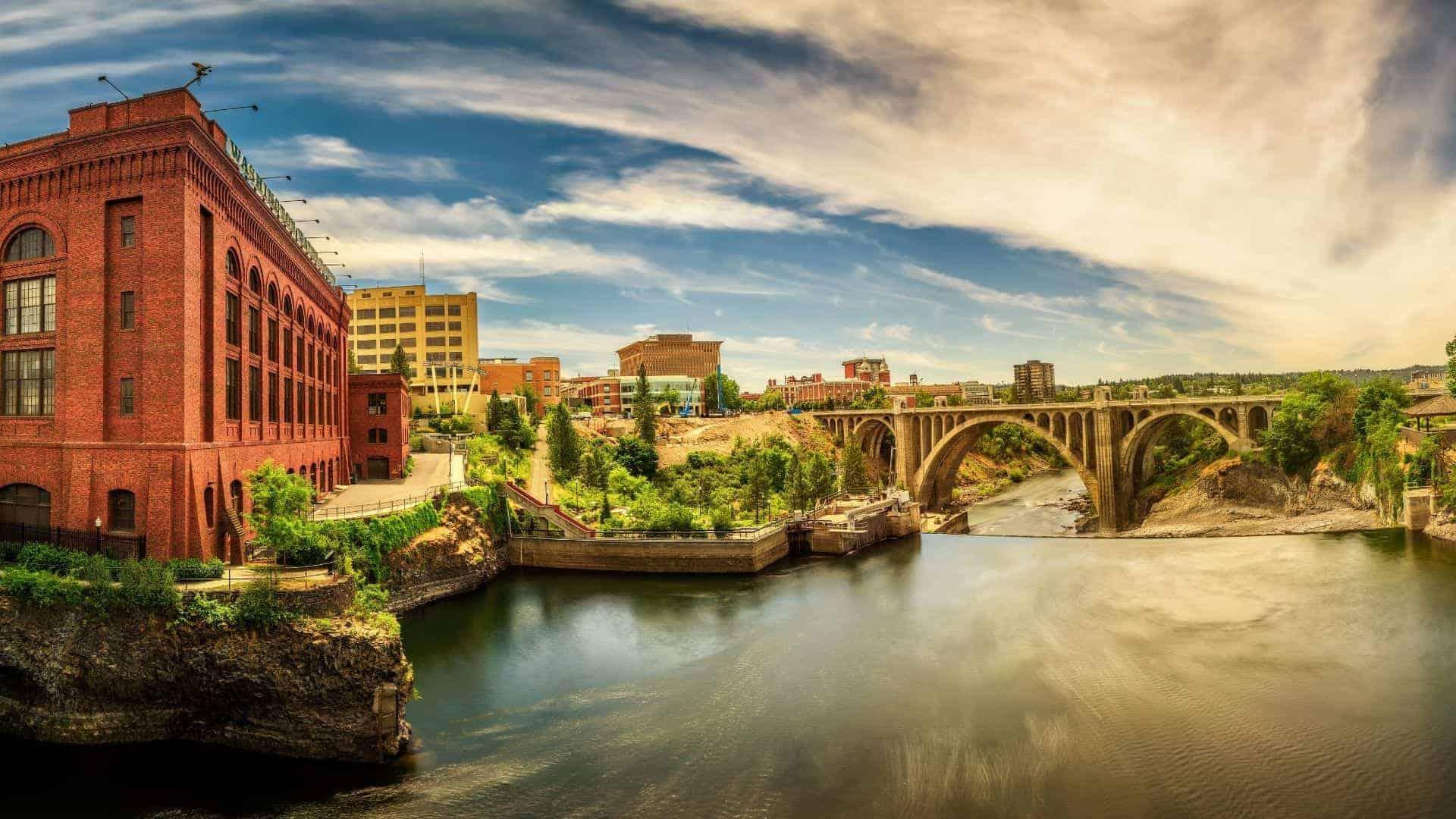 Washington-energiecentrale-met-duurzame-waterkracht